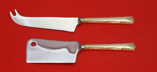 Greenbrier by Gorham Sterling Silver Cheese Server Serving Set 2pc HHWS  Custom