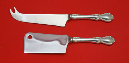 HAMPTON COURT BY REED & BARTON STERLING SILVER CHEESE SERVING SET 2P HHWS CUSTOM