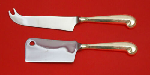 Queen Anne-Williamsburg by Stieff Sterling Silver Cheese Serving Set 2pc Custom