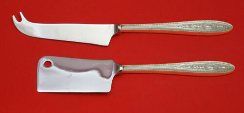 Wedgwood by International Sterling Silver Cheese Serving Set 2pc HHWS  Custom