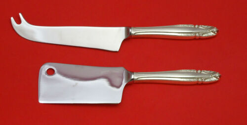 Stradivari by Wallace Sterling Silver Cheese Server Serving Set 2pc HHWS  Custom
