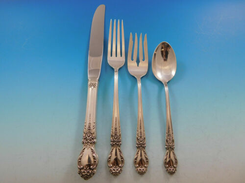 Brocade by International Sterling Silver Regular Size Place Setting(s) 4pc