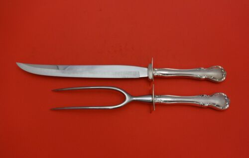 French Provincial by Towle Sterling Silver Roast Carving Set 2pc HHWS