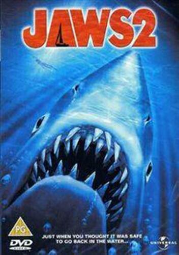Jaws 2 - DVD Region 4 Free Shipping!