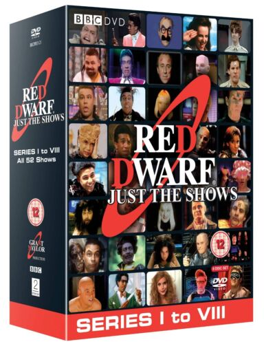 "RED DWARF COMPLETE SERIES COLLECTION 1-8 DVD BOX SET 10 DISCS R4 ""NEW&SEALED"""