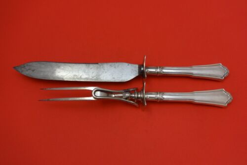 Jacobean by Reed & Barton Sterling Silver Roast Carving Set 2pc HHWS
