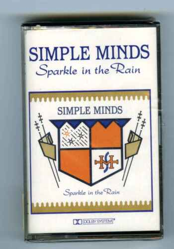 CASSETTE TAPE (SEALED) SIMPLE MINDS SPARKLE IN THE RAIN