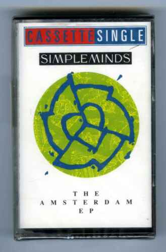 CASSETTE TAPE NEW SIMPLE MINDS AMSTERDAM EP