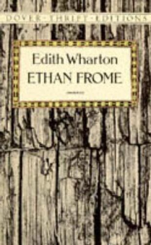 Ethan Frome by Edith Wharton (English) Paperback Book Free Shipping!