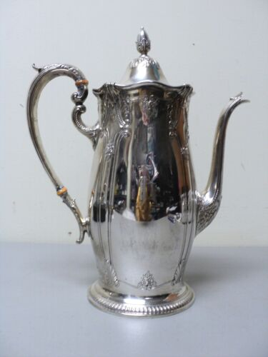 "VINTAGE WALLACE ""STRADIVARI"" STERLING SILVER 3-PINT COFFEE POT,  #4700"