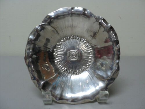 Shreve & Co. Sterling Silver Commemorative Bowl, KNIGHTS TEMPLAR Insignia