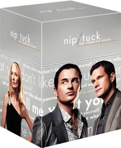 """NIP TUCK COMPLETE SERIES COLLECTION 35 DISCS BOX SET R4 """"NEW&SEALED"""""""