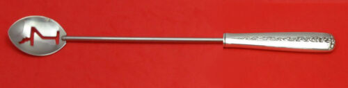 """RAMBLER ROSE BY TOWLE STERLING SILVER MARTINI SPOON HHWS CUSTOM MADE APPROX. 10"""""""