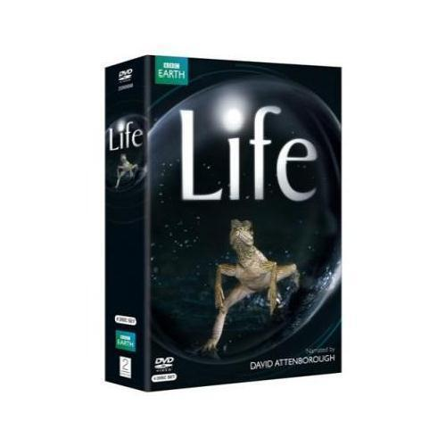 LIFE COMPLETE SERIES COLLECTION DAVID ATTENBOROUGH 4 DISC DVD BOX SET R4 NEW