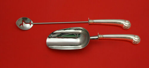 Onslow by Tuttle Sterling Silver Bar Set 2pc HHWS  Custom Made