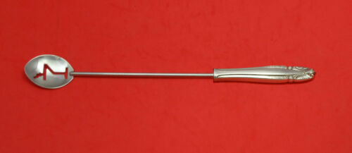 """STRADIVARI BY WALLACE STERLING SILVER MARTINI SPOON HHWS CUSTOM MADE APPROX. 10"""""""