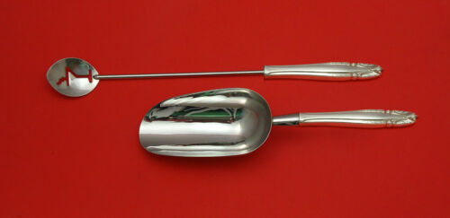 Stradivari by Wallace Sterling Silver Bar Set 2pc HHWS  Custom Made