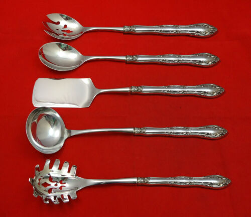 Old Atlanta by Wallace Sterling Silver Hostess Set 5pc HH WS Custom Made