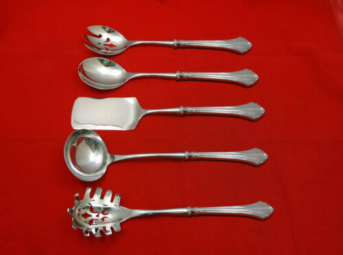 French Regency by Wallace Sterling Silver Hostess Set 5pc HHWS  Custom Made