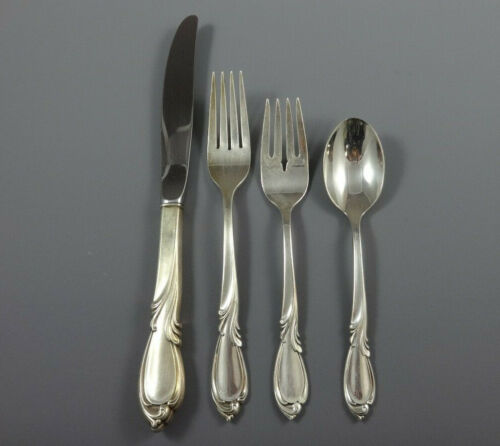 Rhapsody by International Sterling Silver Flatware 8 Service Set 33 Pieces