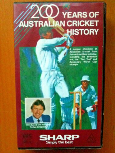 200 YEARS OF AUSTRALIAN CRICKET HISTORY ~ VIDEO ~ THE BRADMAN ERA TIED TEST