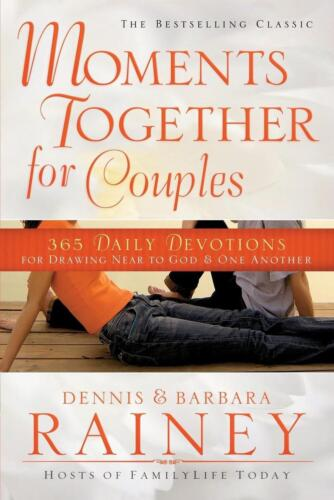 Moments Together for Couples by Dennis Rainey (English) Paperback Book Free Ship