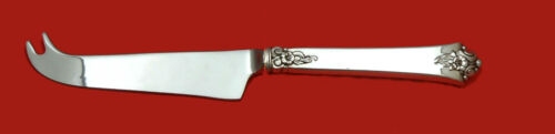 """Castle Rose by Royal Crest Sterling Cheese Knife with Pick HHWS Custom 8 1/4"""""""