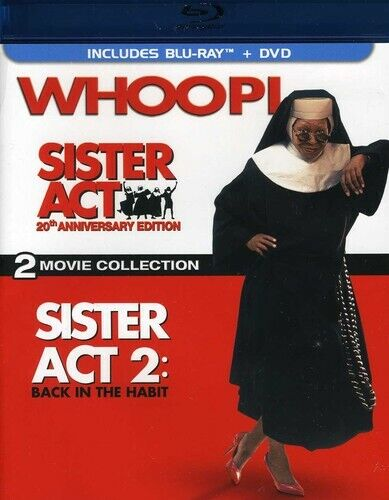 [BLU-RAY/A NEW] SISTER ACT/SISTER ACT 2 [20TH ANNIVERSARY EDITION] [3 DISCS] [BL