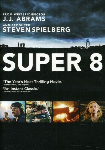 Super 8 (2011, DVD NEW)