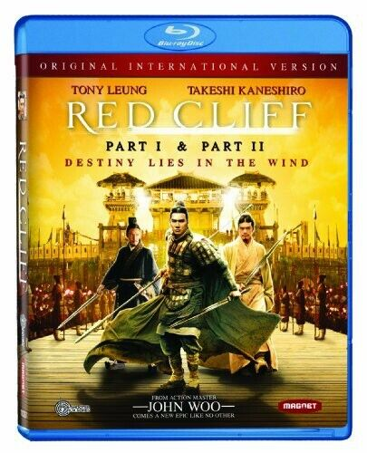 Red Cliff, Part I/Red Cliff, Part II [Original International (2010, Blu-ray NEW)