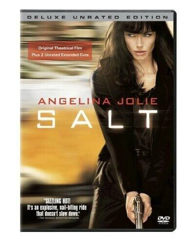 Salt [Unrated] [Deluxe Edition] (2010, DVD NEW)
