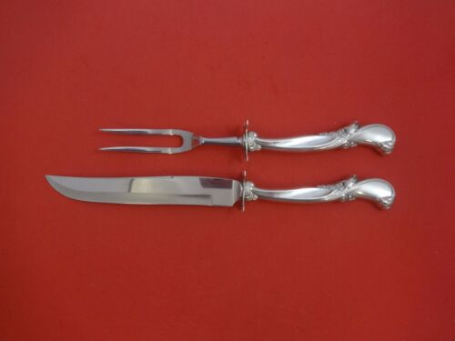 Waltz of Spring by Wallace Sterling Silver Steak Carving Set 2pc HHWS