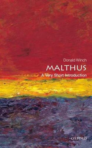 Malthus: A Very Short Introduction by Donald Winch (English) Paperback Book Free
