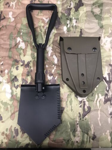 Tri-fold Entrenching Tool / Shovel Mil-Spec With USGI NOS ALICE Carrier Other Current Field Gear - 36071