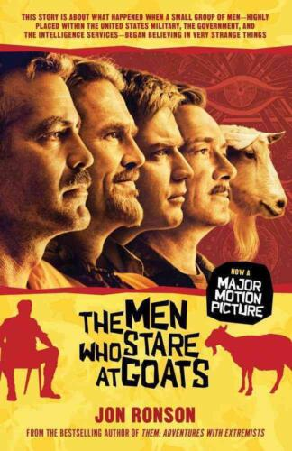 The Men Who Stare at Goats by Jon Ronson (English) Paperback Book Free Shipping!
