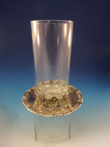 Chrysanthemum by Tiffany and Co Sterling Silver Beverage Holder & Coaster #0171