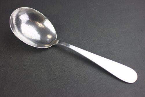 """MARSHALL FIELD & CO COLONIAL STERLING SILVER BERRY/CASSEROLE SERVING SPOON 9.5"""""""