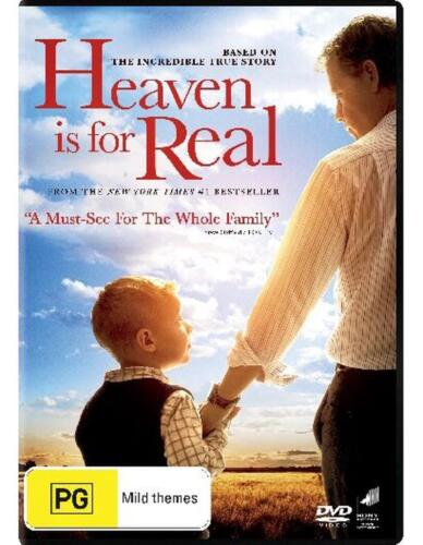 Heaven Is For Real - DVD Region 4 Free Shipping!
