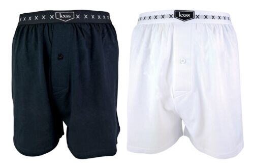 KXSS - Designer Men's Soft Combed Cotton enhancing Boxer Shorts - 1 Pair