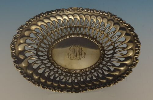 Louis XV by Whiting Sterling Silver Candy Dish w/Fancy Pierced Interior (#0449)