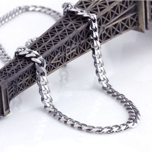 Super Cool Fashion Men Stainless Steel 316L Statement Chain Necklace