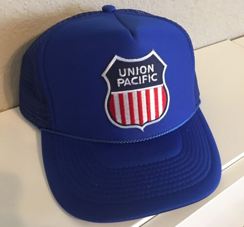 Cap / hat - (UP) Union Pacific Railroad Baseball (Khaki/Navy)- #12061  NEW