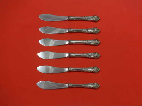 French Renaissance by Reed & Barton Sterling Silver Trout Knife Set 6pc Custom