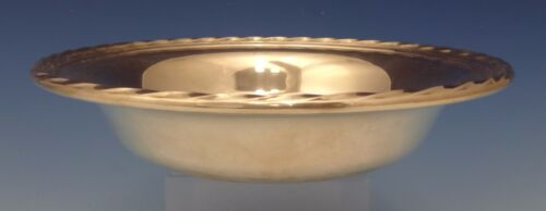 """Silver Flutes by Towle Sterling Silver Candy Dish / Nut Dish 7"""" Diameter (#0622)"""