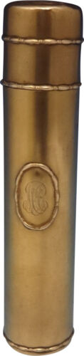 """Marquise by Tiffany & Co. Sterling Silver Talcum Bottle Vermeil 6 1/2"""" (#0501)"""