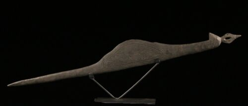 ceremonial stick, mino, papua new guinea, oceanic tribal art