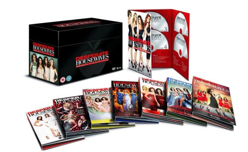 "DESPERATE HOUSEWIVES COMPLETE SERIES COLLECTION 1-8 DVD BOX SET 49 DISC R4 ""NEW"""