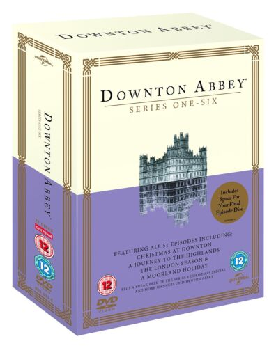 """DOWNTON ABBEY 1-6 COMPLETE SERIES COLLECTION DVD BOX SET 23 DISCS """"NEW&SEALED"""""""