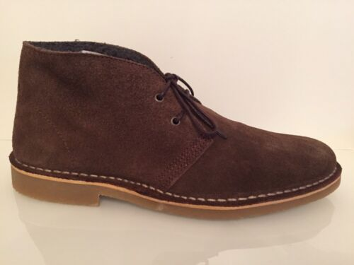Selected Homme Leon Wax Warm Desert Suede Boots - Brown - UK 6/EU 40 RRP £55 New
