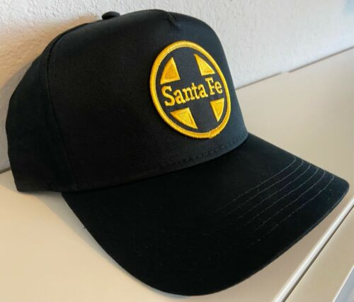 Cap / Hat - Santa Fe Railroad (ATSF ) with Gold and black patch- #22268 -NEW